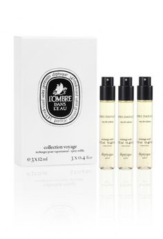 we adore diptyque paris's Philosykos Travel Spray set. with the freshness of fig leaves, the green fruit, the slightly milky sap, and the bark, this body spray is fig tree in all its glory! Amazing Grace Perfume, Discovery Kit, Beauty Must Haves, Perfume Collection, Body Makeup, Travel Kits, Home Fragrances, Body Spray, Smell Good