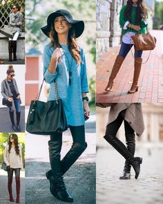 Pouco Estilo : - MODA - BOTAS OVER THE KNEE