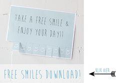 Free smile button