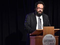 Clarion Ledger photo: Blues historian Scott Barretta, 2016 Governor's Arts Award recipient   University of Mississippi College of Liberal Arts