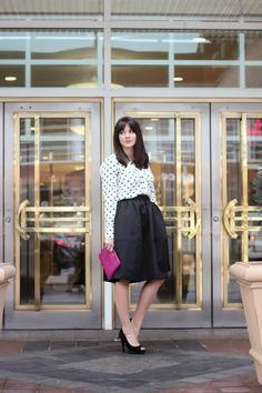 GiGi New York I My Style Vita Fashion Blog I Magenta All In One Clutch