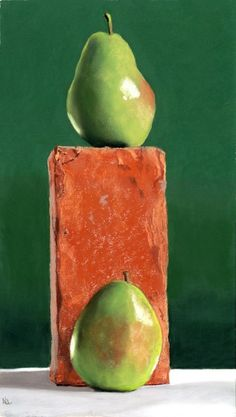 Anjou Pears by Ria Hills on ARTwanted