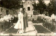 Königin Marie von Rumänien mit Tochter Ileana , Queen of Romania