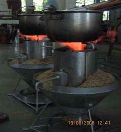 Rice Husk Gasifier Stoves