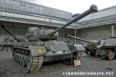 M26A1 Pershing En Museo De Bruselas Belgica