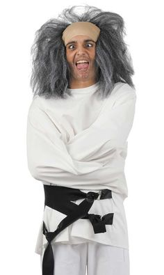 DisfracesMimo, disfraz de camisa de fuerza hombre talla xl. Atraparás a todos los invitados que desees con tu locuara y te los llevarás a disfrutar de tu Fiesta de halloween. Este disfraz es ideal para tus fiestas temáticas de miedo y terror para adulto. fabricacion nacional