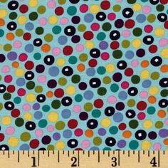 Monkey's Bizness Market Dots Teal