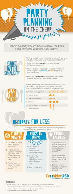 Party Planning on the Cheap [Infographic]