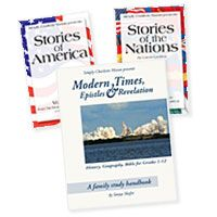 Simply Charlotte Mason is delighted to announce three new resources to help you teach modern history in a living way! The new books cover people and events from 1850 to the present day—both American history and world history.
