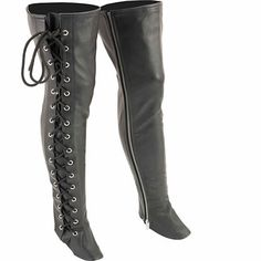 Shop a great selection of Milwaukee Leather Women's Thigh High Side Lace Leggings (Black, M). Find new offer and Similar products for Milwaukee Leather Women's Thigh High Side Lace Leggings (Black, M). Thigh High Leggings, Biker Leggings, Womens Thigh High Boots, Lace Leggings, Leather Leggings, Milwaukee, Motorcycle Chaps, Motorcycle Style, Thigh Highs