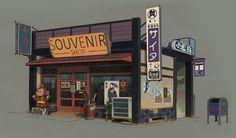 """saveroomminibar: """"The Art of Vasili Zorin. Concept Artist for Sunset Overdrive. Check out Vasili's Tumblr. """""""