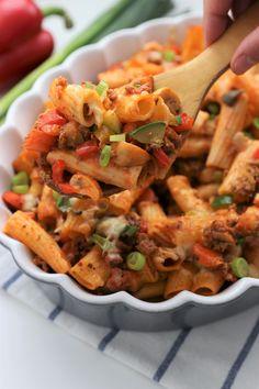 Pasta Noodles, Rigatoni, Goulash, I Want To Eat, Eating Plans, Couscous, Pasta Recipes, Pasta Salad, Macaroni