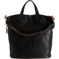Givenchy Nightingale Zanzi Shopper Tote ($1,935) ❤ liked on Polyvore