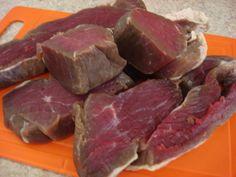 Aprenda a preparar a receita de Carne de Sol maturada no freezer