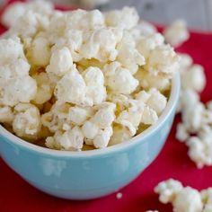Eggnog Spiced Popcorn