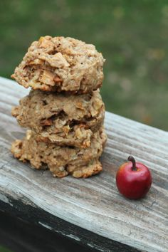 Apple Crumble Cake Cookies {Whole Wheat!}