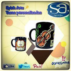 Tazas personalizadas de cafe o te