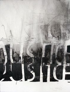 Justice by Thomas Ingmire Schrift Design, Poesia Visual, Lettering, Typography Design, Pop Art, Arte Pop, Letter Art, Calligraphy Art, Art Lessons