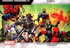 Uncanny Avengers #1 - Ryan Stegman