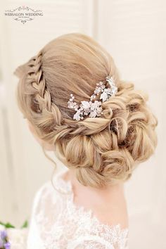 Wedding Hairstyle - via Websalon