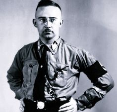 Heinrich the Dependable before the Night of the Long Knives. After the purge, he quickly abandoned his early SA-inspired uniforms and went directly to the black SS attire.