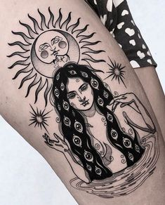 Stunningly Hot Sun Tattoos - Page 31 of 47 - tracesofmybody .com - Stunningly Hot Sun Tattoos tattoos,tattoos for women,tattoos for guys,tattoos for women small,tatto - Sun Tattoos, Trendy Tattoos, Finger Tattoos, Body Art Tattoos, Tattoos For Guys, Tattoo Guys, Sleeve Tattoo For Guys, Woman Tattoos, Dream Tattoos