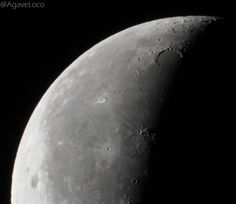 Waning Crescent 25 days 2016-05-01 05.40 - f8 1/80s ISO400 Nikon P900 | 83x (24-2000mm) @AgaveLoco