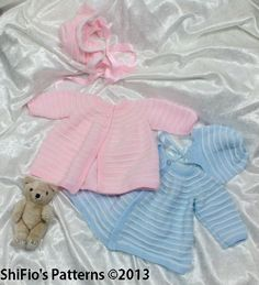 6ed81c981acb Baby Willow Set pattern by Catherine Harrison