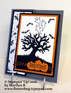 Eye-Catching Halloween Scenes card