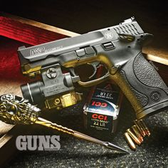 Smith & Wesson M&P22 Compact | GUNS Magazine Combat .22 Rimfire 2015 Special Edition | CLICK HERE: http://www.fmgpubs.com/22book | #smithandwesson #compact #mp22 #rimfire #pistol