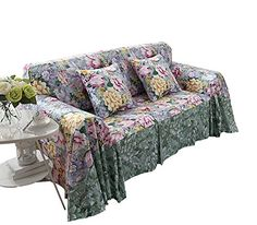 loveseat sofa furniture protector slipcover ocean of flowers 200260cm you can get additional