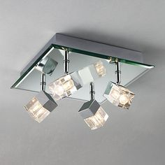Bathroom Ceiling Lights John Lewis amina flush ceiling light - bhs | hallway | pinterest | bhs