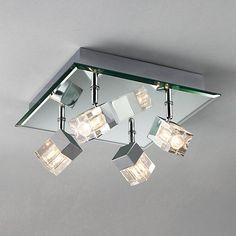 Bathroom Light Fixtures John Lewis lynx led 3 bathroom spotlight | john lewis, spotlight and bathroom