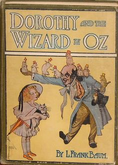 Dorothy and The Wizard In OZ Copyright 1908 L Frank Baum Reilly and Lee 16 Color Plates by thelollipopbookshop on Etsy