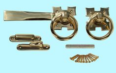 Gate Latches - Here's our complete line : The Renovator's Supply Gate Hardware, Gate Latch, Pull Chain, Can Opener, Solid Brass, Fence, Rings, Shop, Ring