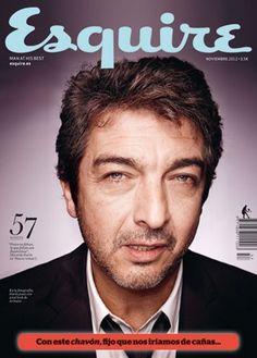 O ator argentino Ricardo Darín estampa a capa da edição de novembro da revista Esquire Espanha. Em entrevista ao número 57 da publicação europeia, o portenho de 55 anos filosofa sobre o que crê e o que sabe da vida...