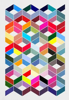 art print by Three Of The Possessed Geometric Patterns, Graphic Patterns, Textures Patterns, Geometric Shapes, Print Patterns, Color Patterns, Pattern Texture, Poster Online, Illustration