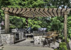 Chesterfield Outdoor Kitchen