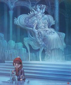 "J. Fleury, ""The Snow Queen"""