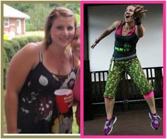 "#myzumbabody  ""From a size 16 to a size 8, 56lbs lighter and feeling more fit then I ever have!!"" *Results not typical and may vary subject to several factors including, but not limited to, diet, exercise frequency, and body composition."