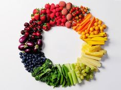 Did you know you should aim to get at least 3 colors in each meal for a punch of antioxidants!!! Plus it looks pretty!
