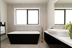 Newtech is a New Zealand's leader in innovative bathroom products. Enjoy great service and support and shop high-quality bathroomware online today! Wall Hung Vanity, High Contrast, Corner Bathtub, New Zealand, Innovation, Living Spaces, Bathroom, Modern, Design