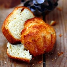 Brioche - French light yeast bread rich with butter and eggs