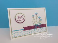Carolina Evans - Stampin' Up! Demonstrator, Melbourne Australia: Wild About Flowers - You'll be Missed #PP263 #FMS199