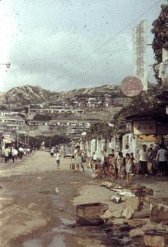 Nairn Road (now Princess Margaret Road), Ho Man Tin. Wallace Chan, British Hong Kong, China Hong Kong, Those Were The Days, Princess Margaret, Empty, 19th Century, Dolores Park, The Past