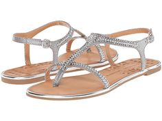 Chinese Laundry Gweneth Grey Metallic - 6pm.com. Grey ShoesWomen's ShoesJeweled  SandalsChinese ...