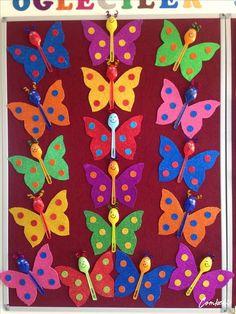 Butterfly crafts for kıds 3 funnycrafts – Artofit Toddler Crafts, Diy Crafts For Kids, Fun Crafts, Art For Kids, Arts And Crafts, Preschool Crafts, Easter Crafts, Diy Niños Manualidades, Butterfly Crafts