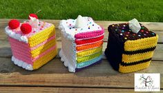 Teacher Appreciation Gifts Crochet Cake Tissue Box Cozies
