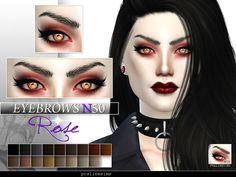 Pralinesims' Rose Eyebrows | N50