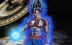 Descargar fondos de pantalla 4k, Goku, magia, Dragon Ball Super, el arte, los personajes, el Hijo de Goku